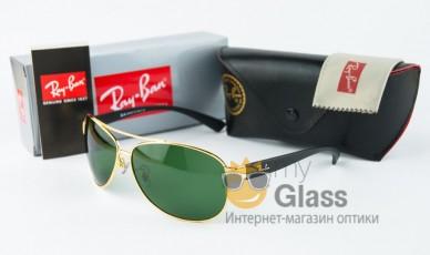Очки солнцезащитные Ray Ban 3386 Gold