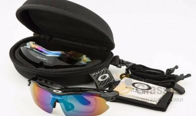 Очки спортивные - тактические Oakley Syper Sport 0089 Black