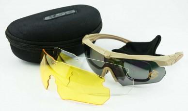 Тактические очки ESS CROSSBOW Z87 Brown