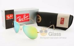 Очки солнцезащитные RB Aviator 3026 Metal 001-2